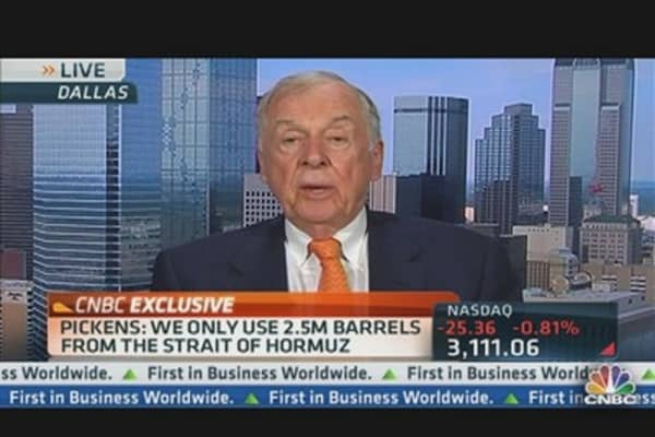 Pickens on Oil & the Elections