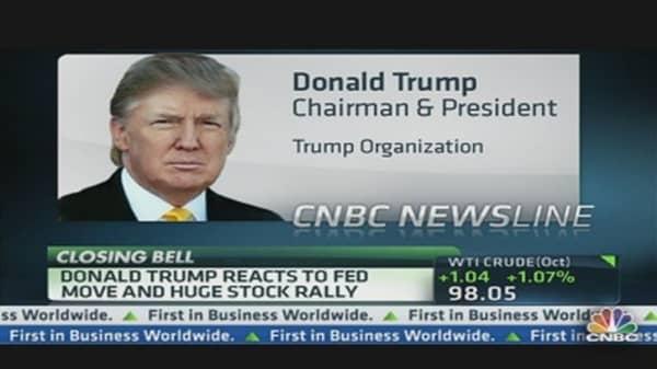 Donald Trump: Bernanke Move Creating False Numbers in Market