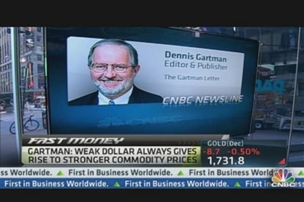 Gartman Bets on Gold in Commodities Rally