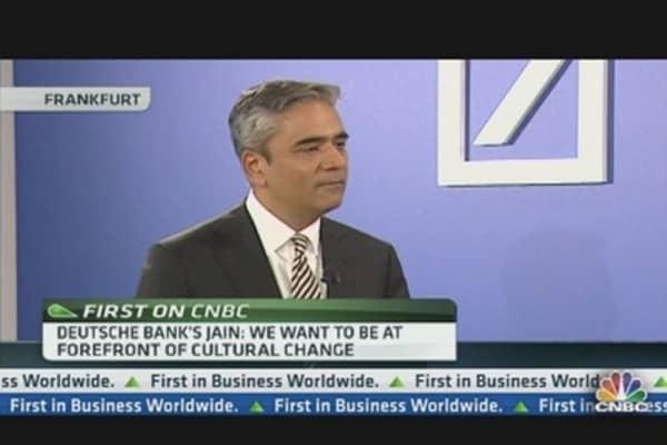 Deutsche Bank's Jain: The Euro Will Survive