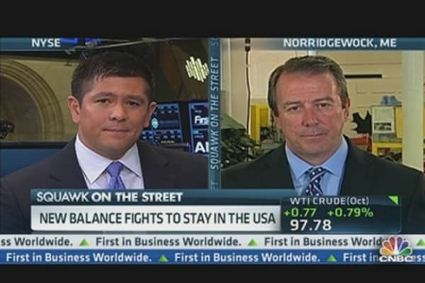 New Balance Fights to Stay in USA
