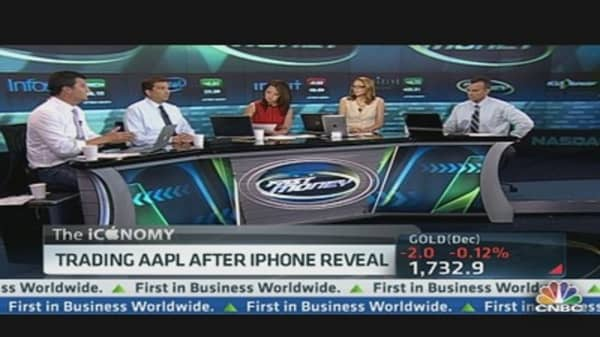 Pros Trade Apple as it Surges Into the Close?