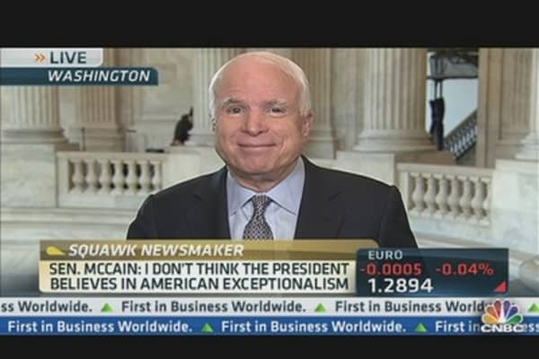 US Position in Middle East is Very Weak: McCain