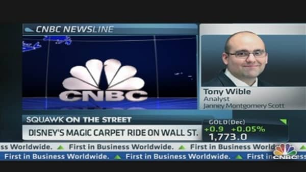 Disney's Magic Carpet Ride on Wall Street