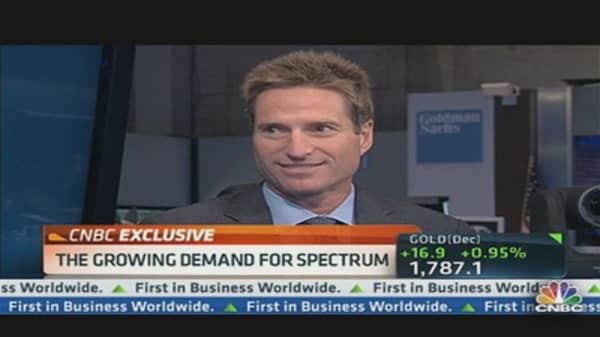 Capitalizing on Spectrum Demand: CEO