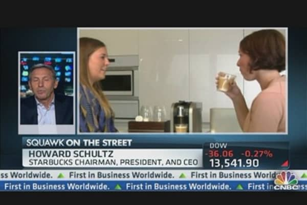 Schultz on Starbucks-Green Mountain Deal