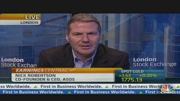 ASOS Earnings Reflect Global Boost
