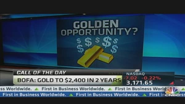 BofA Analyst: Gold Will Hit $2,400 in 2 Years