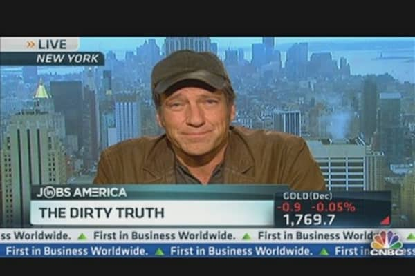 'Dirty Jobs' Host Mike Rowe on Jobs
