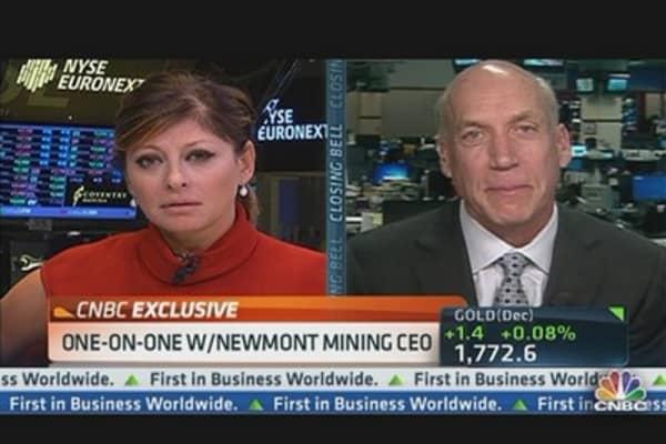 Newmont's CEO: $2,000 Gold in Near Future