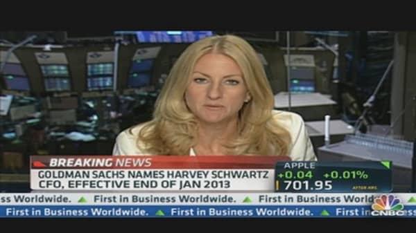 Harvey Schwartz Named Goldman Sachs' CFO