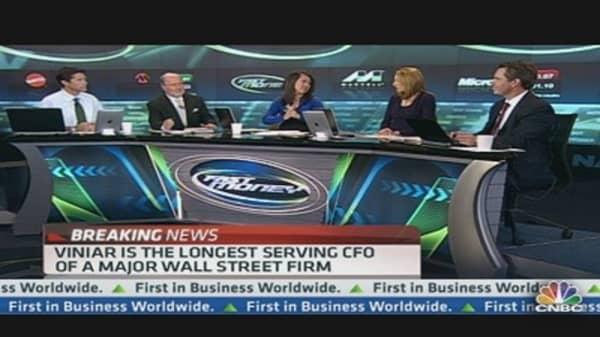 Big Change Inside Goldman's Executive Suite