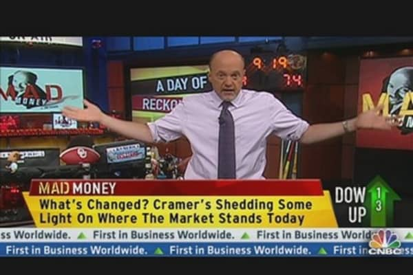 Day of Reckoning Ahead? Cramer's Take