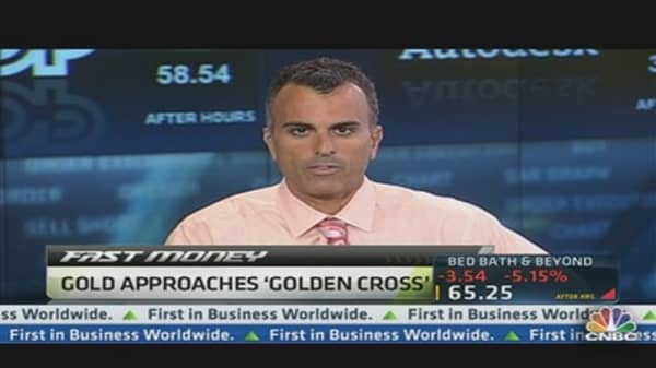 'Golden Cross' May Signal Huge Gold Gains