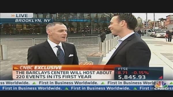 Barclays Opens New Sports Center