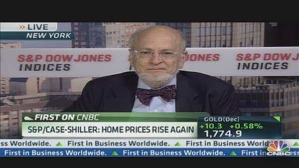 S&P/Case-Shiller: Home Prices Rise Again