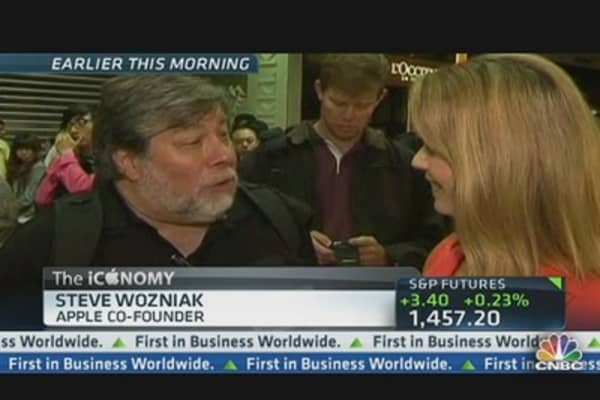 Wozniak Goes to Australia for iPhone 5