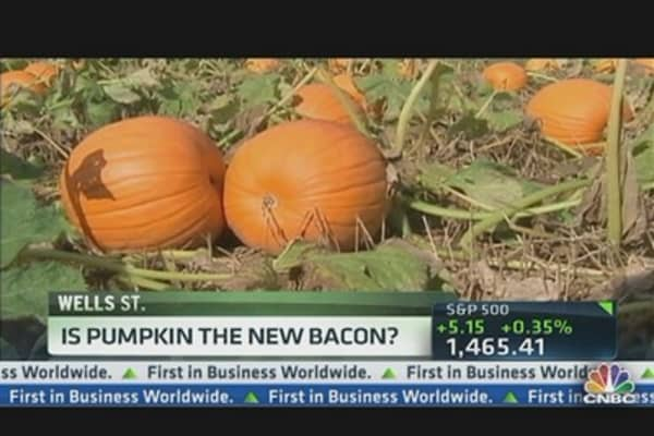 Is Pumpkin the New Bacon?
