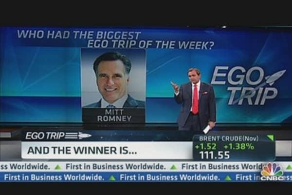 Biggest 'Ego Trip' of the Week
