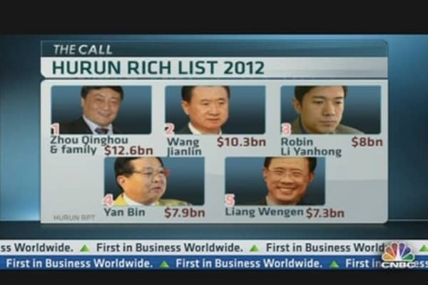 Who's China's Richest Man?