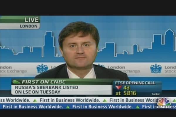 Sberbank Is Start of Privatization Trend: CFO