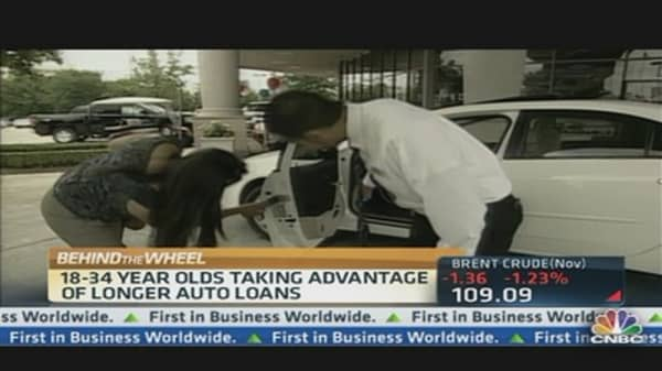 New Car Sales' Youthful Boost