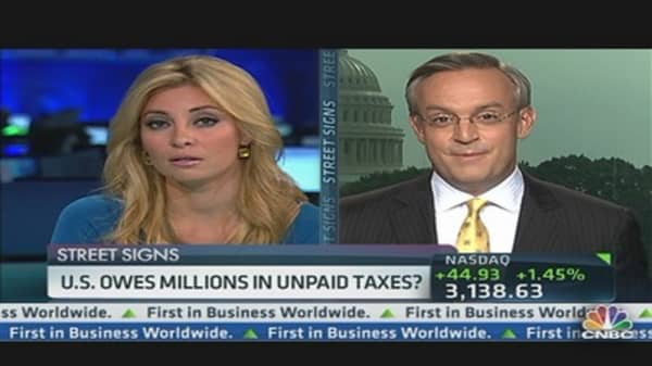 U.S. Owes Millions in Unpaid Taxes?