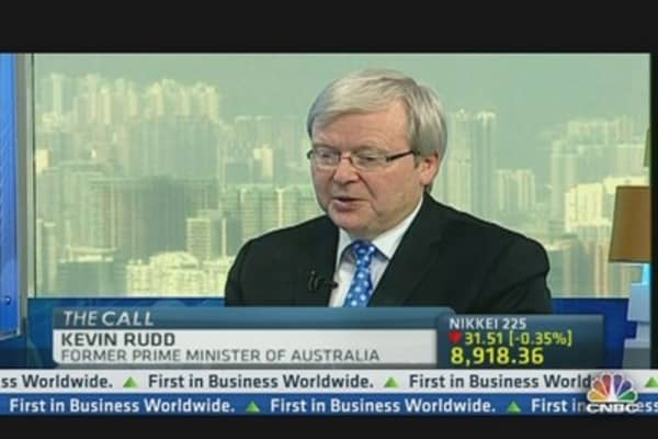 Rudd: Solution to China-Japan Spat? 'Buy Time'