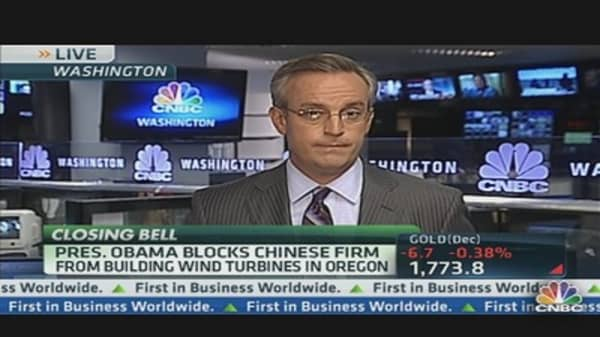 Obama Administration's Crackdown on China