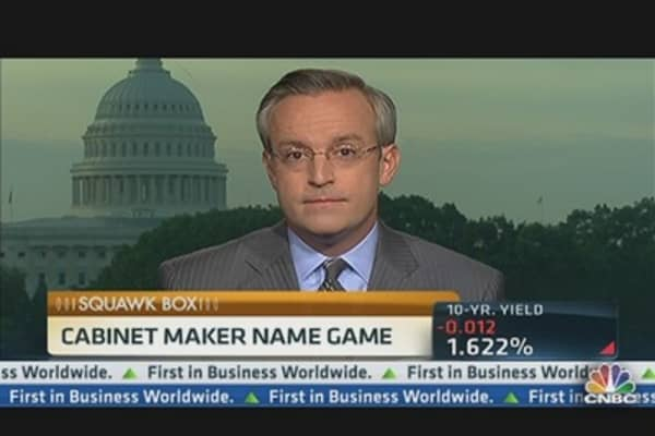 Election: Cabinet Maker Name Game