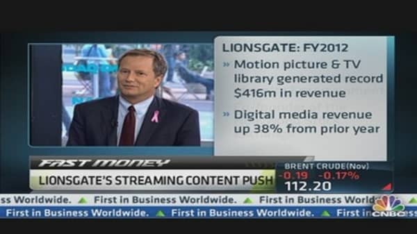 Lionsgate CEO 'Open to Idea of Exclusivity'