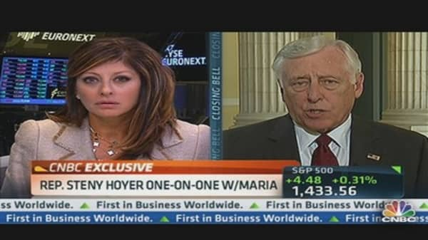 Hoyer: Don't Expect Any Agreement on 'Fiscal Cliff' Before Election