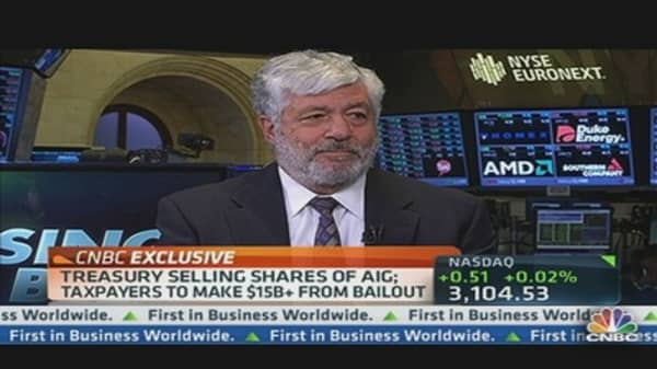 AIG CEO: Government Will Be Out of AIG Very Quickly