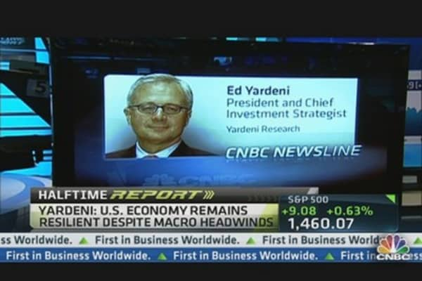 S&P 1,565 in U.S. 'Coiled Spring' Economy: Yardeni