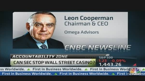 Leon Cooperman on HFT: 'The System Is Broken'