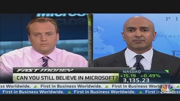 Kashkari: Microsoft a Defensive and Growth Play