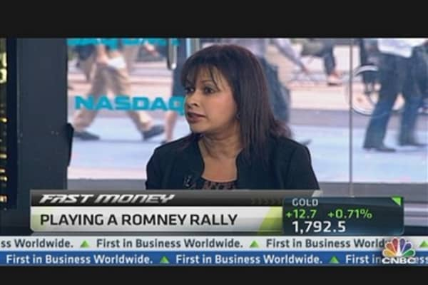 Playing a Romney Rally in Health Care: Analyst