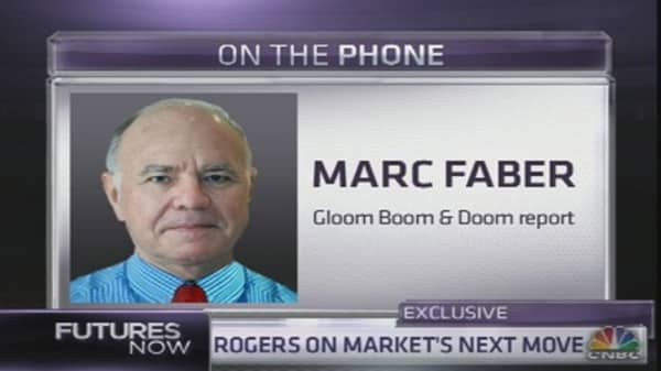 Market Will Correct 20% Lower in 6 Months: Faber