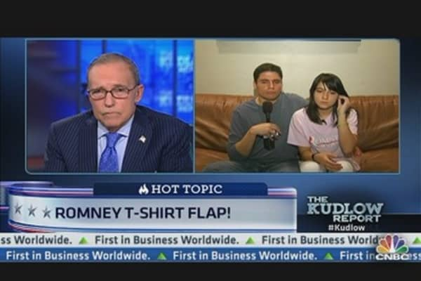 Philly Student Ridiculed Over Romney T-Shirt