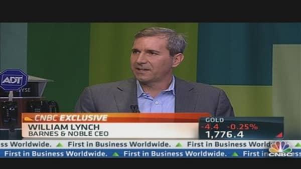 Barnes & Noble CEO on Tablet Wars