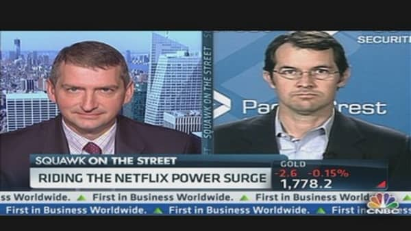 Netflix Upped by Morgan Stanley