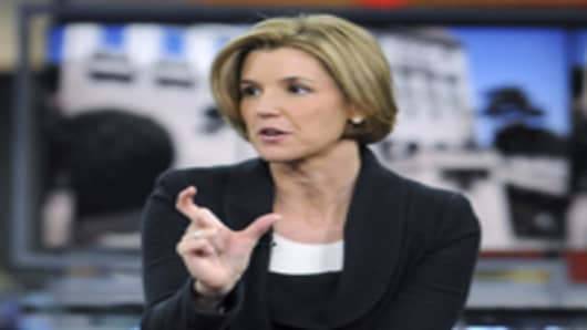Sallie Krawcheck, former head of Bank of America's Merrill Lynch financial advisory business as well as the US Trust advisory business.