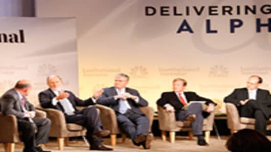 Solving the Deficit Problem Panel at the Delivering Alpha conference.
