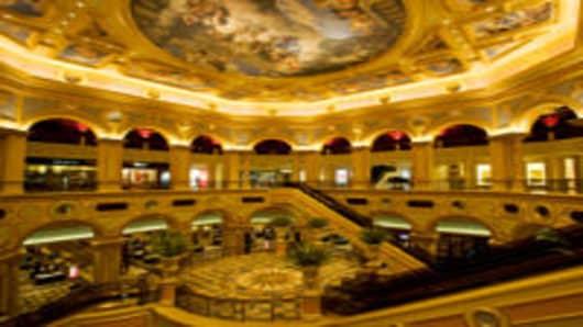 The Venetian Resort and Casino Asia. China. Macau. The Venetian Casino and Resort.
