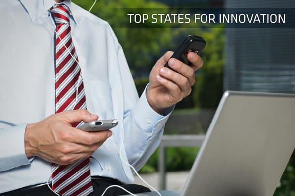 In our annual CNBC rankings of our   is among the most important measures of success. States like to promote themselves as fertile ground for innovation, so we put those claims to the test. The category ranks states based on their support for innovation, with metrics including the number of patents issued to their residents, the dollar value of federal health and science research grants and deployment of broadband services rankings, per the FCC. Click ahead to see the leaders in innovation.