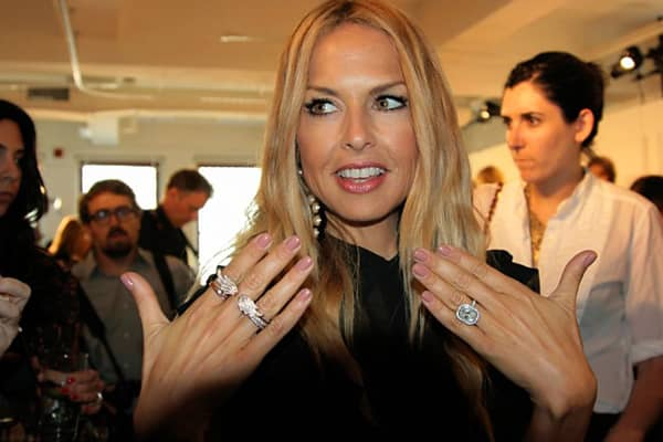 "Celebrity stylist and designer Rachel Zoe chose Zoya's ""Amanda"" color to compliment models nails at her debut presentation. ""I didn't want anything to compete--there are so many groups of colors going on with the collection, I wanted an opaque nail,"" says Zoe. "" 'Amanda' is the perfect fleshy color."""