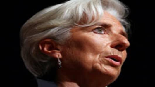 International Monetary Fund Director Christine Lagarde