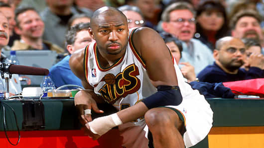 Basketball player Vin Baker was a hot prospect with a great future. He was selected by the Milwaukee Bucks in the 1993 NBA draft, making the All-Star Team four straight times. However, in 1998 he exploded to an alarming 300 pounds, making his status as an active player impossible. Although he eventually lost some of the weight, he could no longer keep his dirty secret quiet -- he was an , and this fact would eventually end his career.