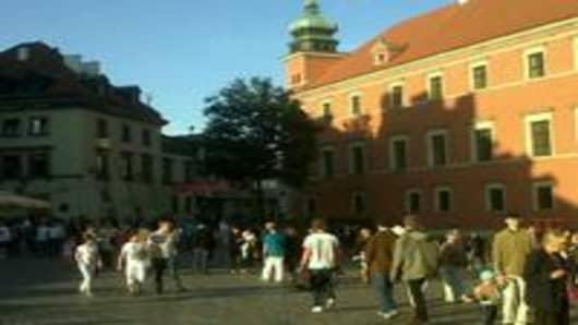 Warsaw's Castle Square