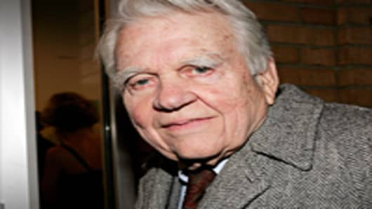 News anchor Andy Rooney